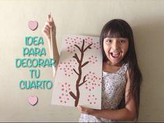 Idea para decorar tu cuarto - Cuadros -DIY!!! - YouTube
