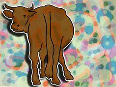 Cow #art #digitalart #tech #ipad