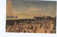 New Orleans penny arcade postcard