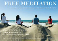 Free Meditation Session http://www.eknazar.com/Events/viewevent-id-104404/free-meditation-session.htm