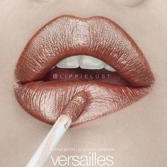 """STUNNING lip post by @lippielust of our """"Versailles"""" metallic Liquid Lipstick!! Only two days left to get your hands on this gorgeous lip shade!❤️ Use the code """"liplove"""" for 30% off OFRACosmetics.com"""