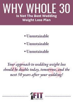 best crash diet for wedding