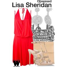 Inspired by Ali Landry as Lisa Sheridan in 2009's Obsessed.