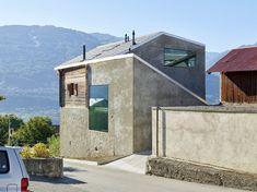Wohnhaus in der Schweiz von Savioz Fabrizzi