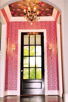 NOTICE CEILING DETAIL MAYME BAKER STUDIO Interior Design Gallery: Clever & Bold | Greenville SC's Premier Interior Design Boutique