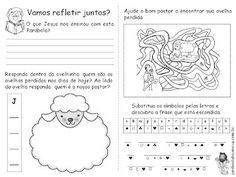atividades da parabola da ovelha perdida - Pesquisa Google