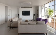 Private house in Israel. Cailing lamp Diamond PP80, designed by Sandro Santantonio.