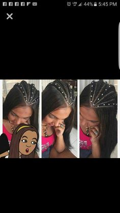 Girl Hairstyles, Braided Hairstyles, Cool Girl, I Am Awesome, Braids, Hair Beauty, Hair Styles, Makeup, Earrings