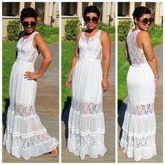 Mimi G Style: DIY Fashion Sewing: OOTD: Feeling Romantic