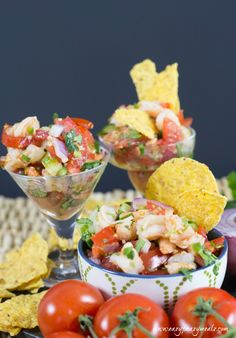 Shrimp ceviche  4 (Don't forget the avocado)