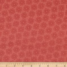 Designed by Angela Anderson for Quilting Treasures, this cotton print fabric is perfect for quilting, apparel and home decor accents. Colors include shades of salmon.
