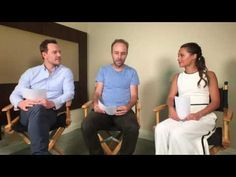 Michael Fassbender & Alicia Vikander on Buzzfeed Entertainment with Derek Cianfrance discussing The Light Between Oceans