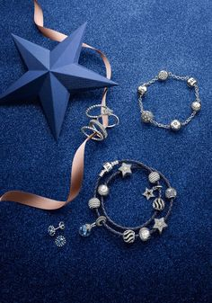 Explore PANDORA's new starry Christmas collection 2014. #PANDORAbracelet #PANDORAcharm #PANDORAring #PANDORAearrings