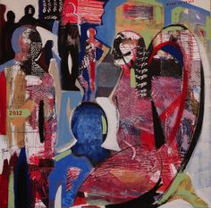 "Saatchi Online Artist: paolo figar; Tempera, 2012, Painting ""angelo 2012"""