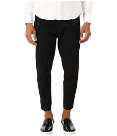 DSQUARED2 DSQUARED2 - HOCKNEY PANTS (BLACK) MEN'S CASUAL PANTS. #dsquared2 #cloth #