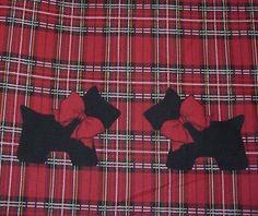 Scottie Scottish Terrier Dog Patty Reed Fabric A Most 5 Yards | eBay