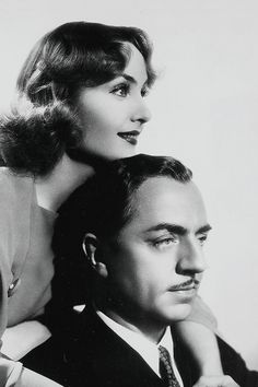 Carole Lombard and William Powell, My Man Godfrey (1936). A silly, fun movie.