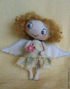 """Купить Повтор работы """"Еще один ангел"""" - разноцветный, ангел, ангелочек, ангел-хранитель, ангелочки"""