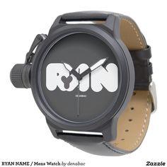 RYAN NAME / Mens Watch Relojes De Mano