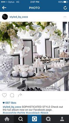 White florals