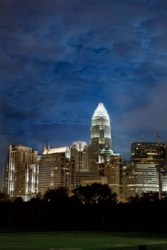 Charlotte, North Carolina... And they all think NC (and most of the South, tbh) is farmland and beaches.. Psssh.