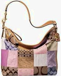 9a16dbc89bbd Authentic COACH Patchwork Leather Large Tote Hand Bag Shoulderbag ...