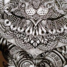 Someone wanted details. Here you go. #zoomedin #zentangle #doodle #doodleart #art #ink #uniPIN #cats #catsofinstagram #pen #tattoo #bnginksociety #imaginariart #imaginationarts #instaart #instartist_ #instadraw #theartshed #artFido #arts_help #artistsmuseum #worldofartists #art_quality #artofdrawing #spotlightonartists #Art_Spotlight #artmagazine #artsanity #arts_gallery #iblackwork