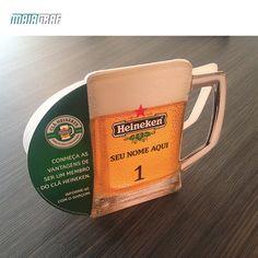 Um brinde a qualidade! Uma das maiores cervejarias do mundo escolheu a Maiagraf para produzir os displays para os pontos comerciais espalhados pelo Brasil. A produção gráfica em offset no papel supremo 350g com faca especial e plastificação. Qualidade tão boa quanto a própria cerveja!  Faça uma cotação com a gente e comprove você mesmo. #Heineken #Maiagraf #Displays #Brasil #Qualidade