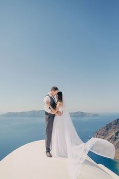 Santorini Destination Wedding with Anna Roussos | Fly Away Bride