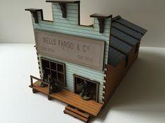Wells Fargo & Land Agent Office   The Wargames Website