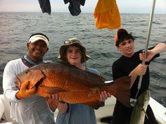 fishing aboard the Reel Intense