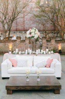 neutral wedding decor | A. Caldwell Events