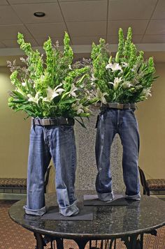 Plants in my Pants   So doing this with their baby jeans.dse