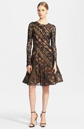 Oscar de la Renta Lace Dress