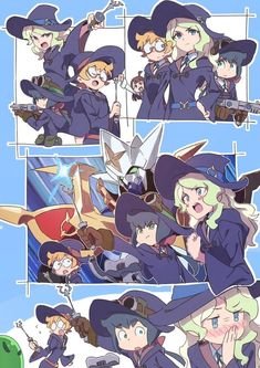 Crazy Coven or Strangely Efficient Coven?! (Featuring a Special Guest Cameo!) : LittleWitchAcademia