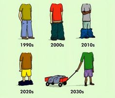 The Evolution of Baggy Pants | Differences Proving That The World Has Changed For The Worse