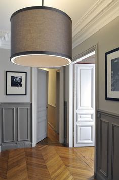 Ideas Door Frame Detail Interiors For 2019 Design Hall, Flur Design, Bad Inspiration, Interior Inspiration, Gray Interior, Interior And Exterior, Front Door Colors, Interior Decorating, Sweet Home