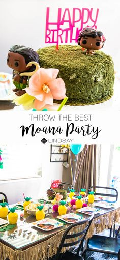 Throw a Moana party