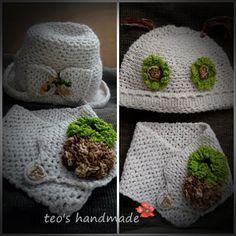 teo's handmade: Seturi crosetate Crochet Hats, Handmade, Fashion, Knitting And Crocheting, Knitting Hats, Moda, Hand Made, Fashion Styles, Fashion Illustrations