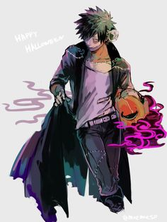 Boku no Hero Academia || Dabi (Halloween)
