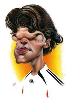 caricaturas de futbolistas