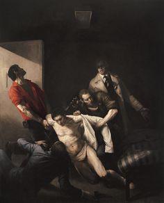 The murder of Andreas Baader - Odd Nerdrum - Download the Nedrum App on the App Store: https://itunes.apple.com/us/app/nerdrum-museum/id581881682?mt=8=uo%3D4