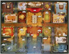 Kill Doctor Lucky | Image | BoardGameGeek Mystery Games, Card Games, Cards, Painting, Image, Game Ideas, Mansion, Sassy, Gaming