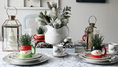 Create A Cozy Christmas Tablescape - Our Crafty Mom