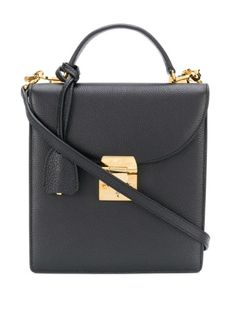 Mark Cross Uptown Cross-body Bag In Black Tote Purse, Crossbody Bag, Calf Leather, Black Leather, Mark Cross, Leather Satchel Handbags, Wedge Sneakers, Black Cross Body Bag, Shoulder Strap
