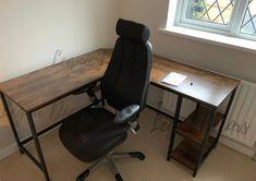 Computer Desks For Home, Computer Desk With Hutch, Pc Desk, Home Desk, Shoe Storage Shelf, Drawer Shelves, Wooden Corner Desk, Double Desk, Period Living