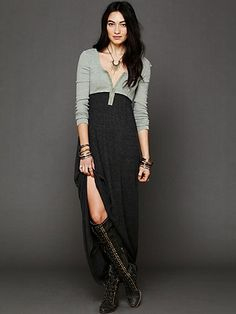 Got You Hooked Free People Maxi Dress
