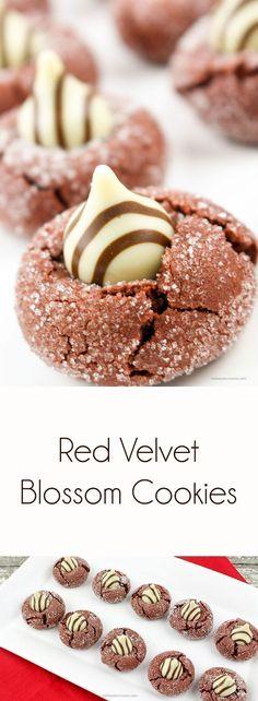 Red Velvet Blossom Cookie Recipe