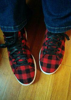 Buffalo Print, Buffalo Check, Buffalo Plaid, I Love My Shoes, Cute Shoes, Me Too Shoes, Plaid Fashion, Fashion Shoes, Autumn Fashion