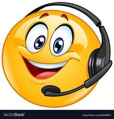 Buy Costumer Support Emoticon by yayayoyo on GraphicRiver. Costumer support emoticon with headset Angel Emoticon, Happy Emoticon, Happy Smiley Face, Emoticon Faces, Emoji Set, Emoji Love, Smiley Emoji, Cute Emoji, Emoji Images